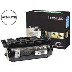 Tóner Lexmark 0X644A11E color negro