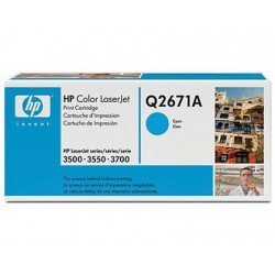 Toner HP 309A Q2671A color Cian