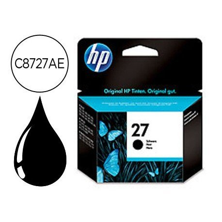 Cartucho HP 27 color Negro C8727AE