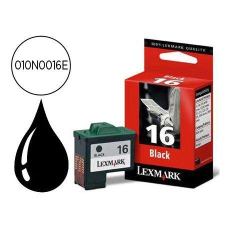 Cartucho Lexmark 010N0016E Nº 16 Negro