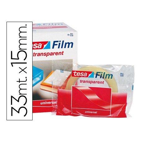 Cinta Tesa adhesiva Practic 33m x 15mm