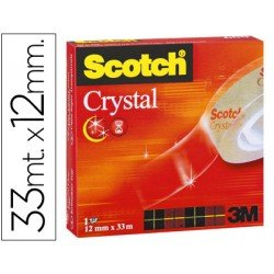 Cinta adhesiva marca Scotch crystal