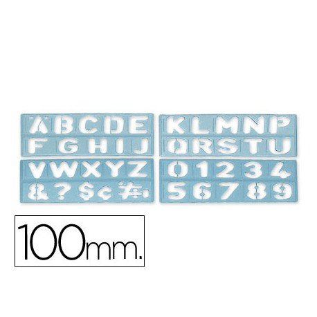 Plantilla Csp rotulacion letras y numeros
