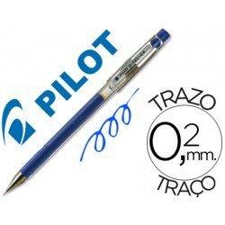 Boligrafo marca Pilot punta aguja g-tec-c4 azul