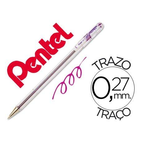 Boligrafo Pentel BK-77 violeta 0,27 mm
