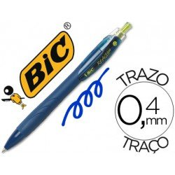 Boligrafo Marca Bic Reaction Ecologico Azul