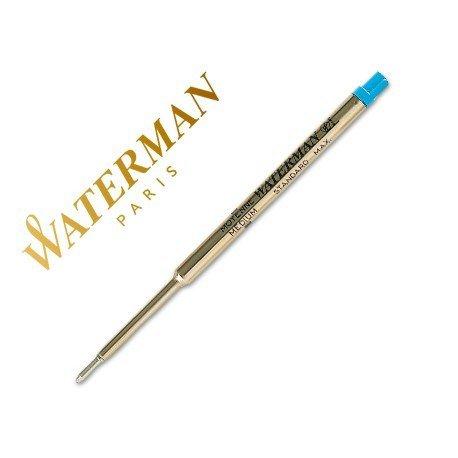 Recambio boligrafos Waterman color azul