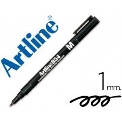 Rotulador retroproyección Artline EK-854 Permanente Color Negro Punta Redonda