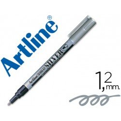 Rotulador Artline silver