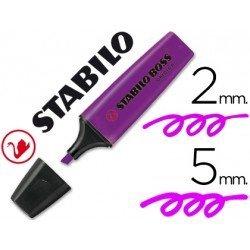 Rotulador Stabilo Boss 70 violeta fluorescente