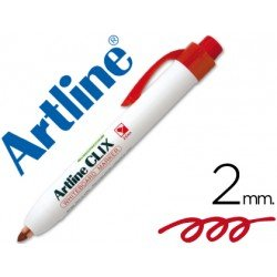 Rotulador Artline Clix color rojo 2mm