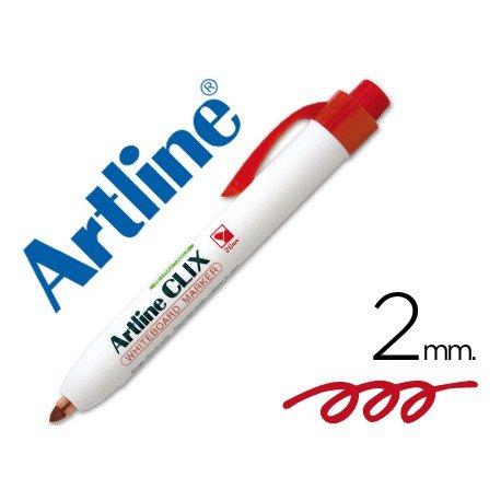 Rotulador Artline Clix color rojo 2mm