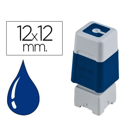 Sello Automatico marca Brother 12 x 12 azul