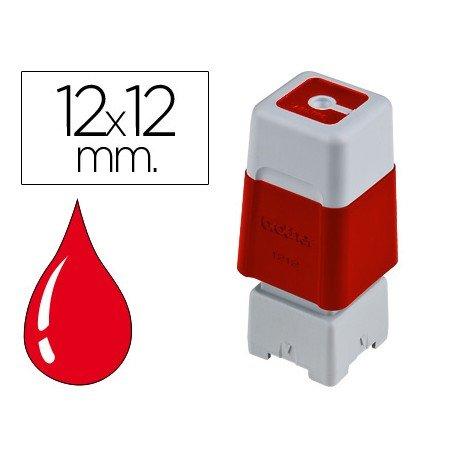Sello Automatico marca Brother 12 x 12 rojo