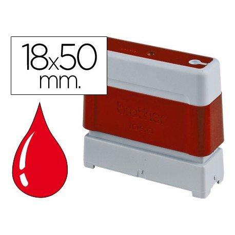 Sello Automatico marca Brother 18 x 50 rojo