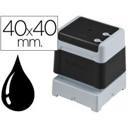 Sello Automatico marca Brother 40 x 40 negro