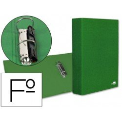Carpeta 2anillas 40mm Folio marca Liderpapel Verde
