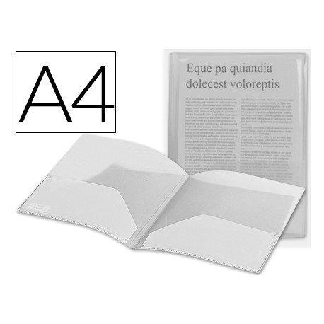 Carpeta dossier con doble bolsa de Beautone Din A4