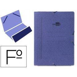 Carpetas gomas carton Liderpapel folio