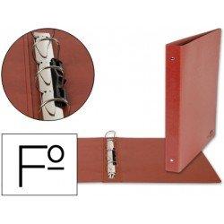 Carpeta Liderpapel de carton cuero folio lomo 40 mm