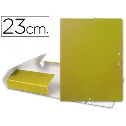 Carpeta de proyectos Fabrisa de carton con gomas