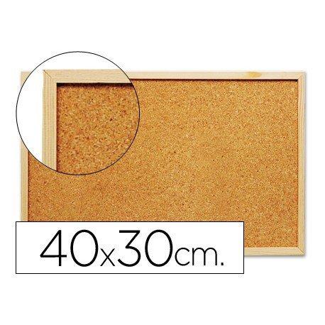 Tablero de corcho mural Q-Connect 40x30cm