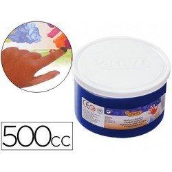 Pintura de dedos Jovi 500 cc color azul