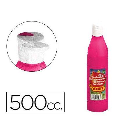 Tempera liquida Jovi color magenta 500 cc