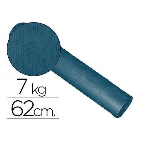Papel kraft Impresma azul cobalto