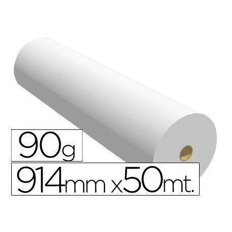 Papel reprografia para plotter Navigator 90 g/m2, medidas 914mmx50m