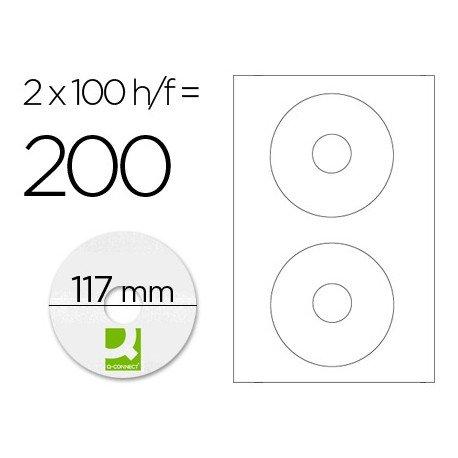 Etiquetas Adhesivas marca Q-Connect 25 h/50