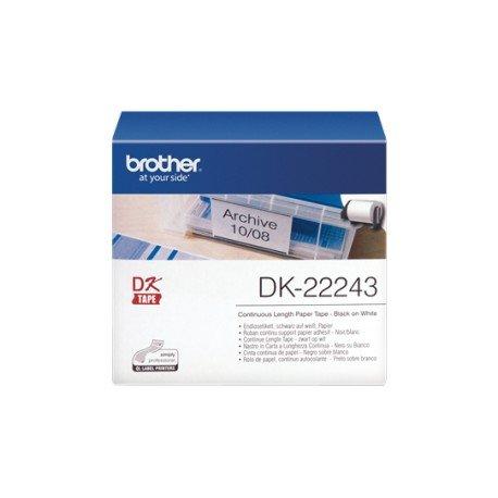 Etiquetas para impresora Brother DK-22243