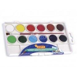 Acuarela marca Jovi estuche 12 colores