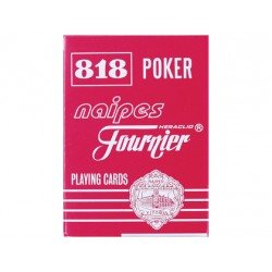 Baraja Poker ingles y Bridge Modelo 818/55 marca Fournier