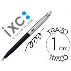 Bolígrafo Inoxcrom 55 azul 1 mm