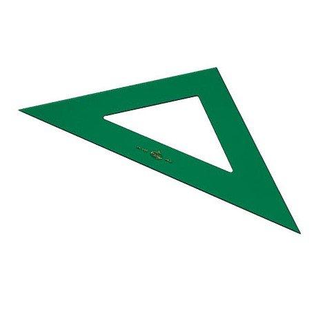 Escuadra faber 16 cm plastico verde