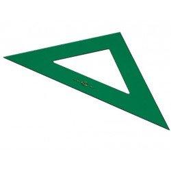 Escuadra faber 21 cm plastico verde