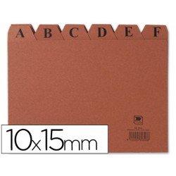 Indice fichero marca Liderpapel N3 carton