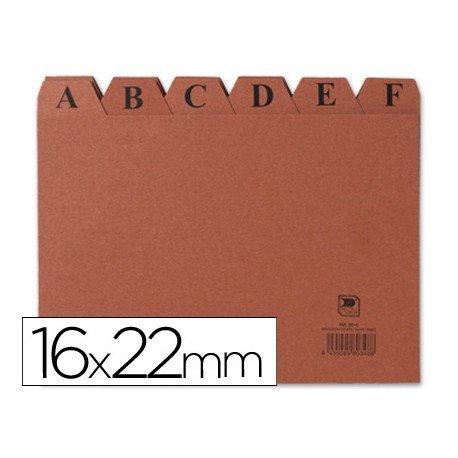 Indice fichero marca Liderpapel N5 carton