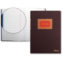 Libro Miquelrius tamaño folio de Actas