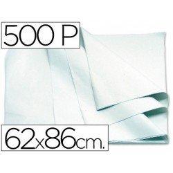 Papel manila 62x86 cm color blanco 1 resma