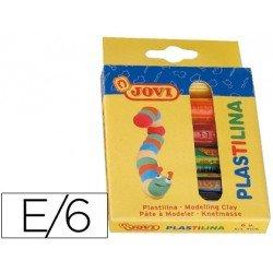Plastilina Jovi 6 unidades