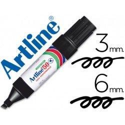 Rotulador permanente Artline Recargable EK-50 Color Negro
