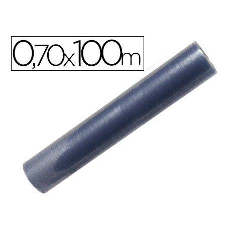 Rollo plastico forralibros Liderpapel de 0,7 m x 100 m