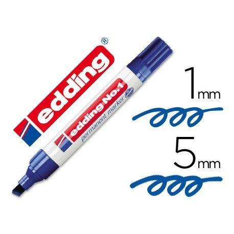 Rotulador Edding 1 azul
