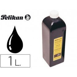 Tinta china pelikan 1 l negra