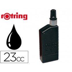Tinta china rotring negra -frasco de 23 cc