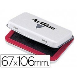 Tampon marca Artline Nº 1 rojo