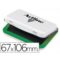 Tampon marca Artline Nº 1 verde
