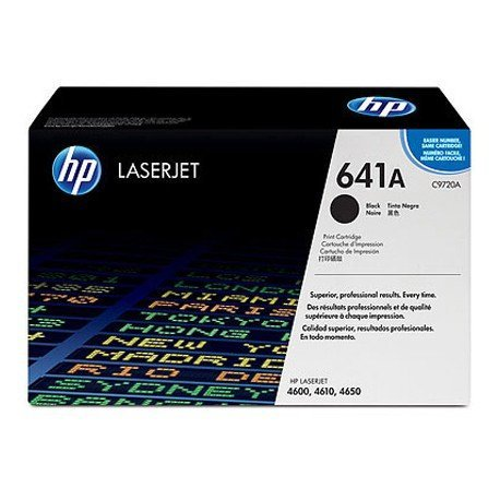 Toner HP 641A C9720A color Negro